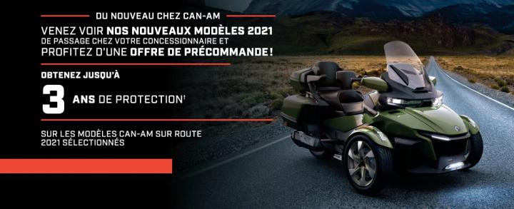 Can-Am Précommande modèles 2021