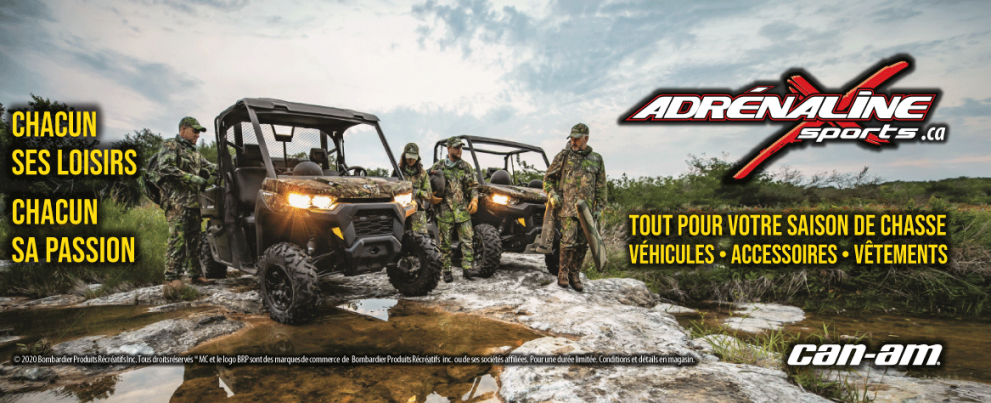 Can-Am HR chasse