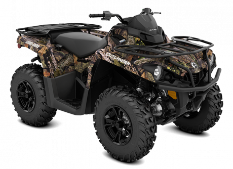 Can-Am OUTLANDER DPS 450/570 CAMOUFLAGE-MOSSY-OAK-BREAK-UP-COUNTRY 2022