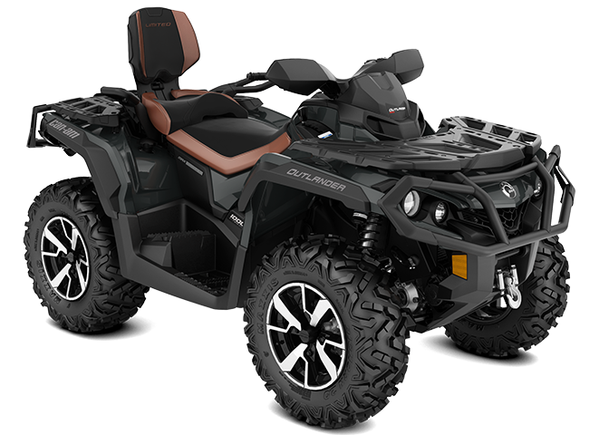 Can-Am OUTLANDER MAX LIMITED GRIS-PIERRE 2022