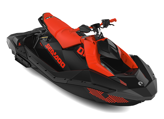 Can-Am SPARK TRIXX 3 up rouge-lave/noir-profond 2022