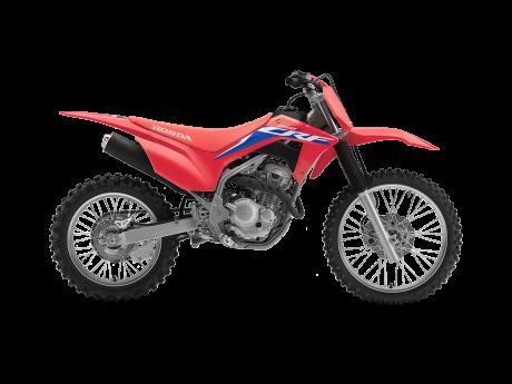 Honda CRF250F Rouge extrême 2022